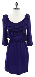 Amanda Uprichard short dress Silk Ruffly on Tradesy