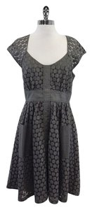 Plenty by Tracy Reese short dress Grey Eyelet on Tradesy