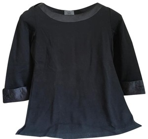 Chanel Fragrance Uniform Jackie O Top Black