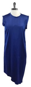 Kimberly Ovitz short dress Blue Silk Sleeveless on Tradesy