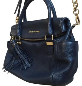 MICHAEL Michael Kors Satchel in Navy Blue