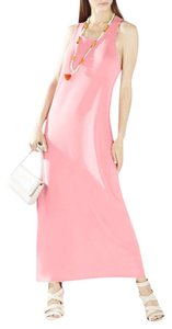 Coral Maxi Dress by BCBGMAXAZRIA Twisted Back Maxi