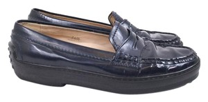 Tod's Patent Leather Loafers Flats