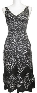 Black with White Sequins Maxi Dress by coolchange