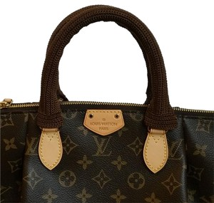 Handmade Louis Vuitton Turenne Siena PM Handle Covers Crochet brown