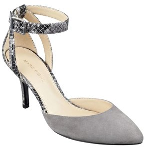 Marc Fisher Grey Pumps