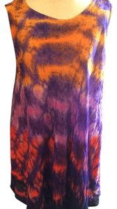 Sakkas short dress Orange, purple, pink, red, rainbow on Tradesy