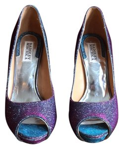 Badgley Mischka Turquoise, pink Pumps