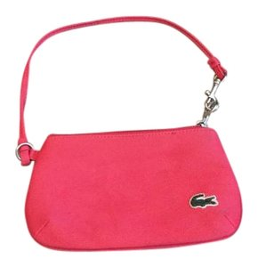 Lacoste Wristlet in red