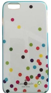 Kate Spade Kate Spade iPhone 6+ case multicolor confetti dot NEW