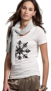 J.Crew T Shirt White and black