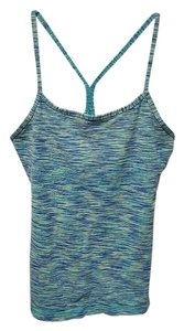 Lululemon Lululemon Power Y Tank, Spacedye Teal, Luon, Size 6