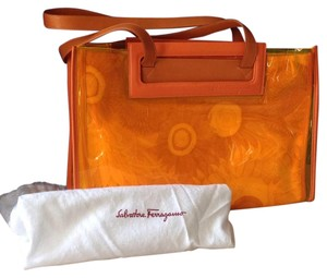 Salvatore Ferragamo Tote in Orange