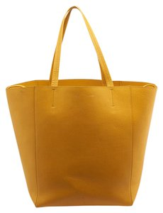 Céline Cabas Phantom Tote in Yellow