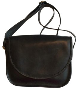 Claire Chase Black Messenger Bag