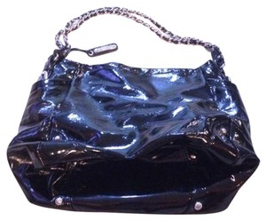Liz Claiborne Patent Leather Shoulder Bag