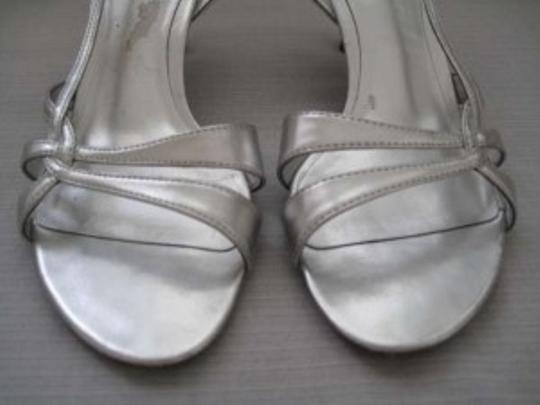 Katie & Kelly And Evening Evening Heels Silver Formal