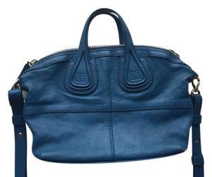 Givenchy Nightingale Micro Satchel in Blue