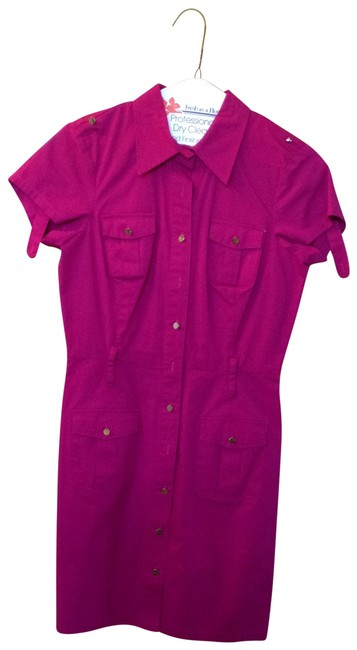 Item - Pink / Magenta Above Knee Short Casual Dress Size 0 (XS)