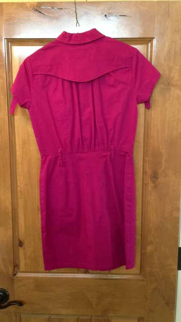 2b bebe short dress pink / magenta on Tradesy