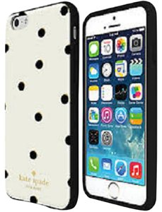 Kate Spade Kate Spade iPhone 6+ white with black dots - new