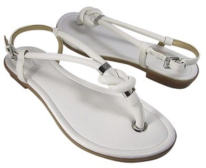 Michael Kors Kors Flat white Sandals