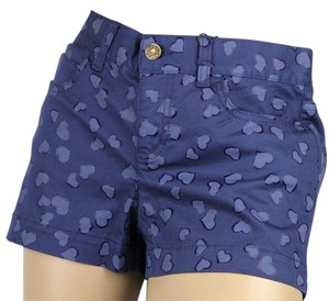 Gucci Heartbeat Short Shorts Blue