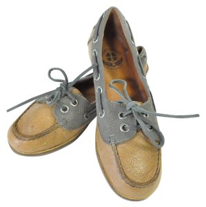 Lucky Brand Boat Loafers Brown Flats