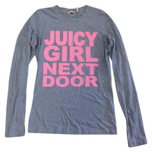 Juicy Couture T Shirt Grey