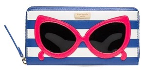 Kate Spade Kate Spade make a splash neda Wallet blue NWT match Rey Tote Harmony