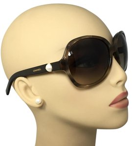 Chanel Collection Perle Brown Chanel Sunglasses 5141-H c.1101/3B 61