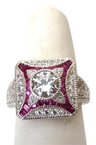 Xavier 2.01 ctw Absolute Created Ruby Ring Size 7