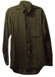 Burberry London Button Down Shirt Plaid