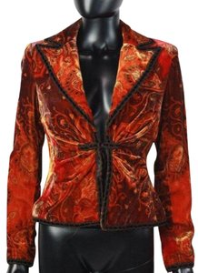 Kay Unger Burnt Orange Jacket