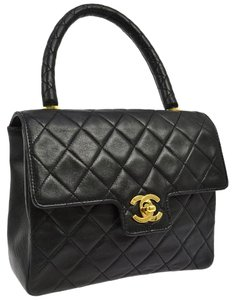 Chanel Kelly Tote in Black