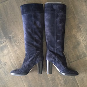 Michael Kors Navy denim blue Boots
