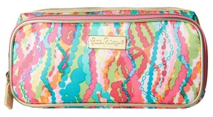 Lilly Pulitzer Make It Cosmetic Case Dripping In Jewels