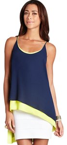 BCBGMAXAZRIA Top Navy and Lemon combo