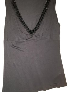 Velvet by Graham & Spencer Top Grey