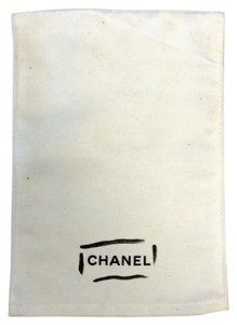 Chanel #8443 Chanel White dust bag small 5.5 x 7.5 Tote Bag