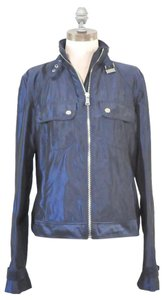 Ralph Lauren New Without Tags Shiny Coat Rain Motorcycle Jacket
