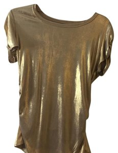 Vince Camuto Top Gold Luster