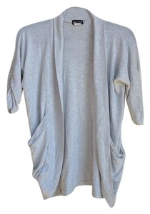 Wet Seal Ruched Sleeves Ruched Cardigan