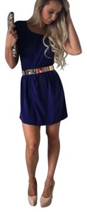 i.Ner short dress Blue on Tradesy