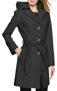 Michael Kors Wool Hooded Pea Coat