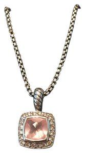 David Yurman Albion Pendant Necklace with Diamonds