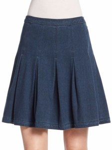 Diane von Furstenberg Figure-flattering Fall Skirt Dark blue