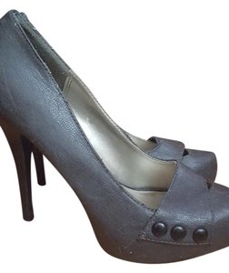 Charlotte Russe Stiletto Grey Pumps