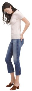 AG Adriano Goldschmied Jodi Crop Capri/Cropped Denim-Medium Wash