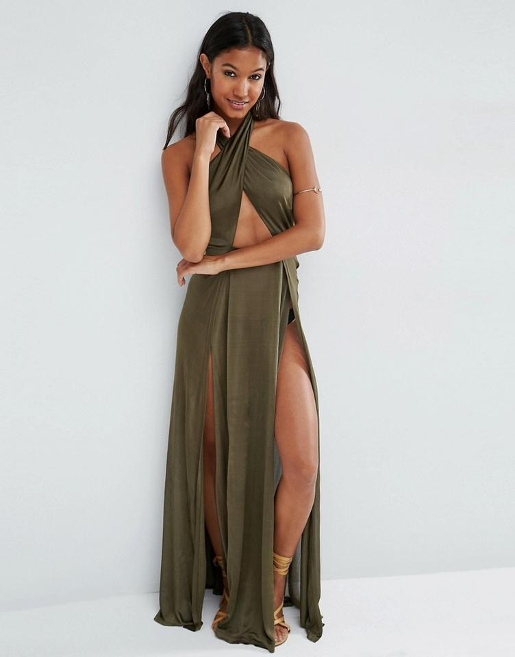 caf4322e151 Green Maxi Dress by ASOS Zara Free People Topshop For Love And Lemons Stone  Cold Fox. 1234
